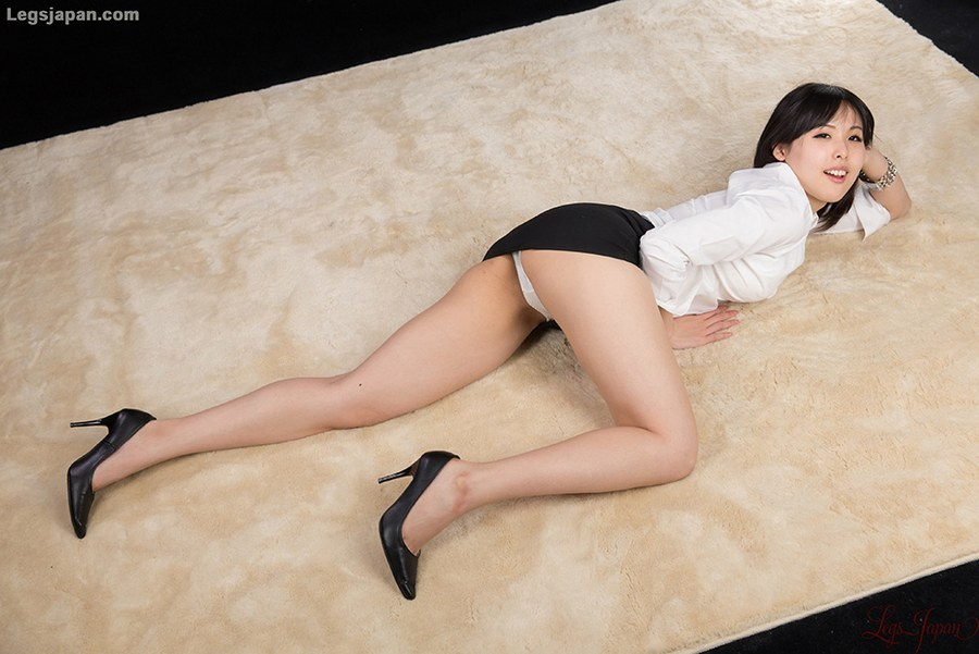 image Office lady black stockings amp sex in uniform ctoan